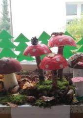 Jesień w lesie, grzyby niesie - konkurs