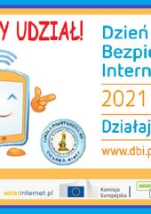 Certyfikat udziału w akcji Dzień Bezpiecznego Internetu
